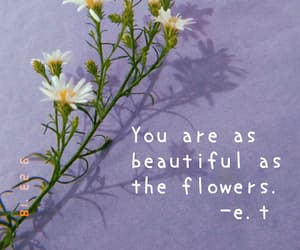 beauty, confidence, and flowers image