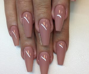 acrylics, long nails, and manicure image