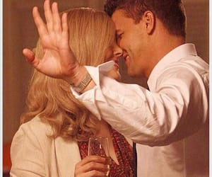 blonde, booth, and david boreanaz image