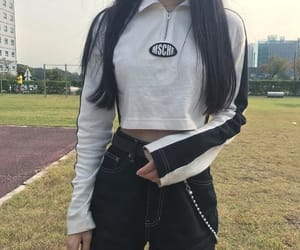 outfit, asian, and fashion image