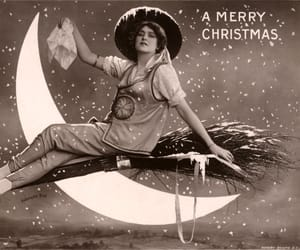 gabrielle ray, merry christmas, and moon image
