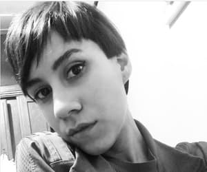 girl, haircut, and pixie image