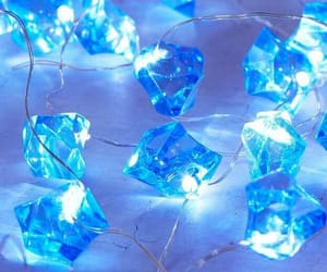 blue, light, and diamonds image