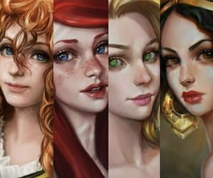 ariel, art, and brave image