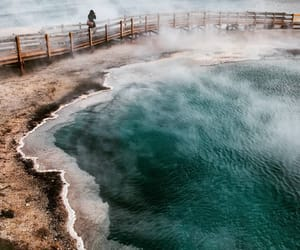 tumblr, excelsior geyser, and yellowstone image