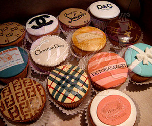 cupcake, chanel, and food image
