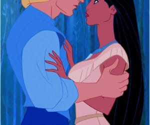 pocahontas, disney, and love image