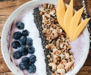 acai, breakfast, and healthy image