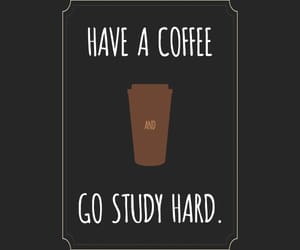 coffee, motivation, and college image
