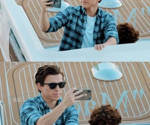 spiderman, harry holland, and tom holland image