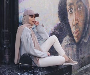 fashion, hijab, and islam image