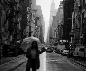 new york, travel, and black and white image
