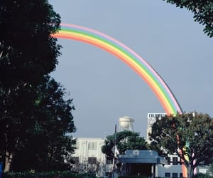 alternative, nature, and rainbow image