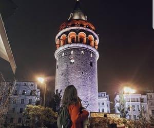 city, galata kulesi, and istanbul image