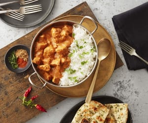 butter, Chicken, and dinner image