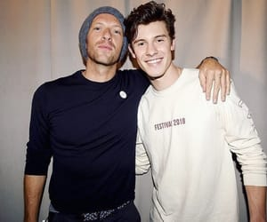 shawn mendes and Chris Martin image