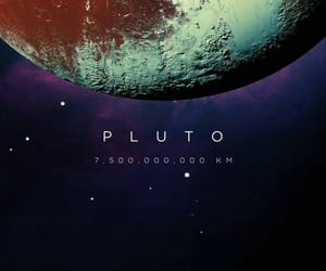 pluto, planet, and space image