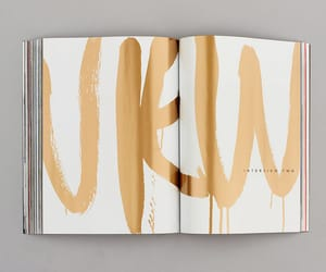 book, typography, and design image