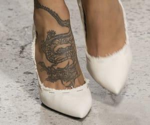 tattoo, fashion, and heels image