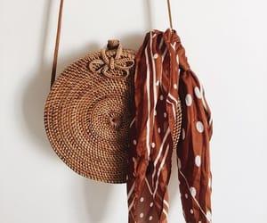 bag, bandana, and fashion image