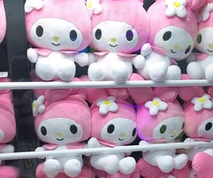 kawaii, pink, and my melody image