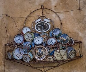 clocks, future, and past image