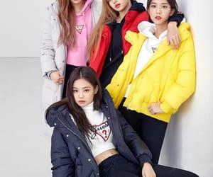 kpop, kim jisoo, and kim jennie image