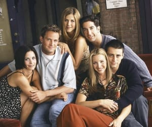 friends, monica, and tv show image