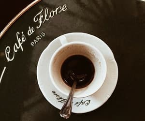 coffee, paris, and aesthetic image