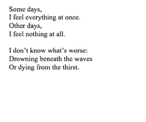 depression, drowning, and dying image