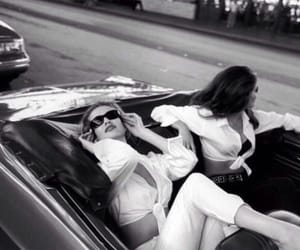 car and girls image