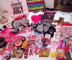 pink, stuff, and girly image