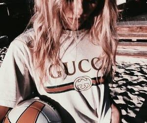 gucci, girl, and fashion image