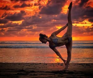 backbend, dancer, and flexibility image