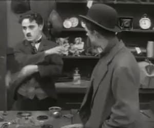 charlie chaplin, gif, and bloopers image