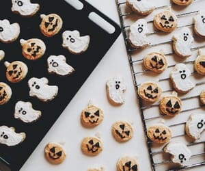Cookies, Halloween, and autumn image