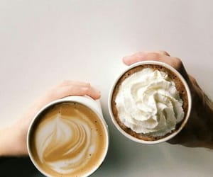 coffee, photography, and cafe image