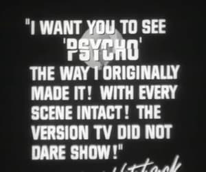 alfred hitchcock, Psycho, and gif image