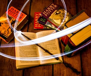 books, magic, and harry potter image