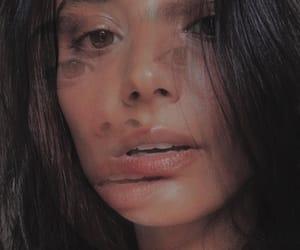 art, closeup, and face image