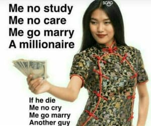 funny, meme, and millionaire image