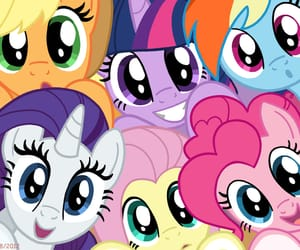 best friends, cuties, and my little pony image