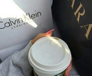 Zara, Calvin Klein, and starbucks image