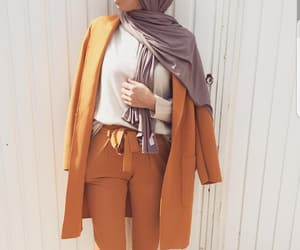 hijab, fashion, and outfit image
