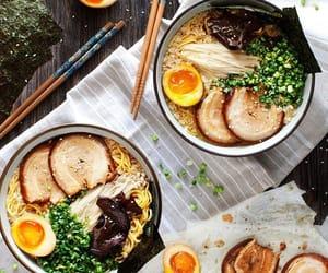 food, ramen, and asian food image