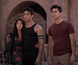 teen wolf, kira, and scott mccall image