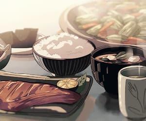 anime, japan, and tea image