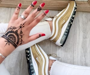 Dream, gold, and henna image