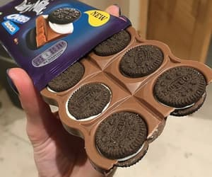 chocolate, delicious, and oreo image