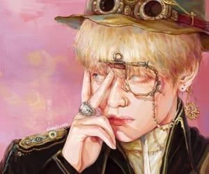 art, kpop, and v image